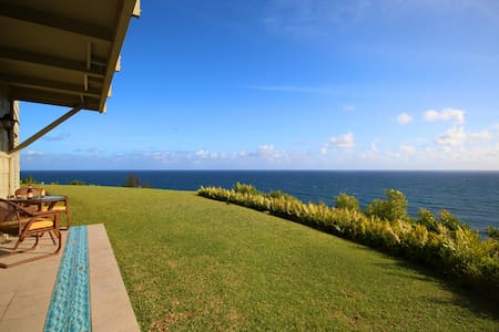 Completely, totally oceanfront stunning VIEWS!!! - Princeville