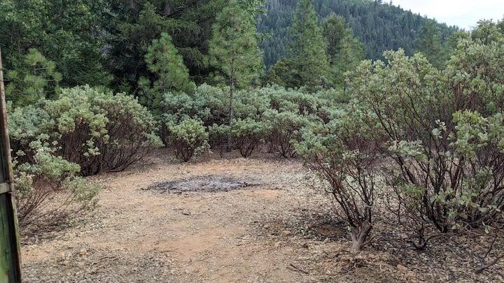 private property camping near Shasta Lake