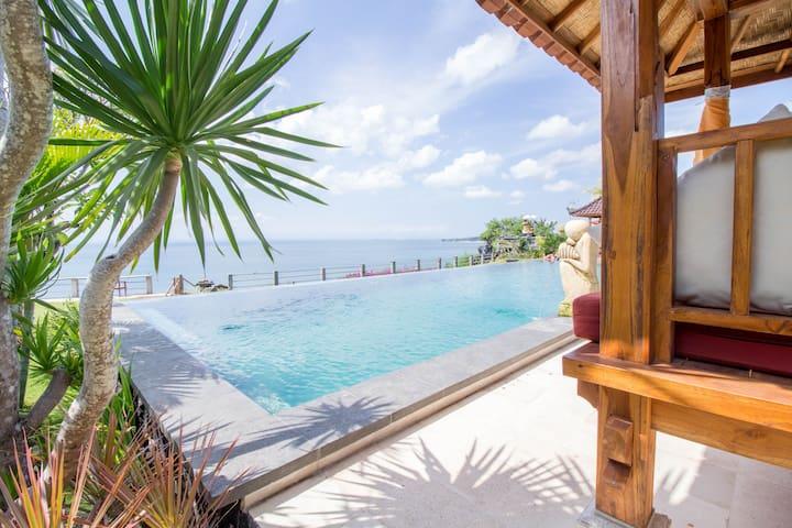 Balinese Modern Clifftop Apartment in Uluwatu #D1 - Kuta Selatan - Apartamento
