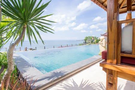 Balinese Modern Clifftop Apartment in Uluwatu #D1 - Kuta Selatan - 아파트