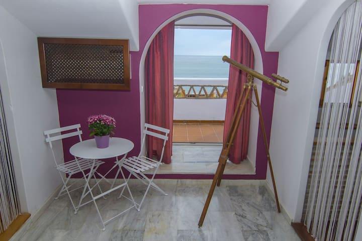 Chalet adosado a 20m de la playa - Benajarafe - Casa