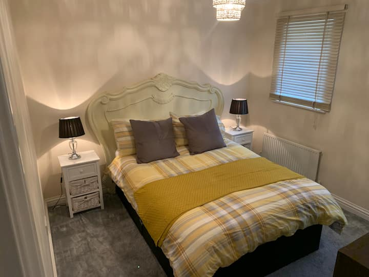 A beautiful two double bedroom home.