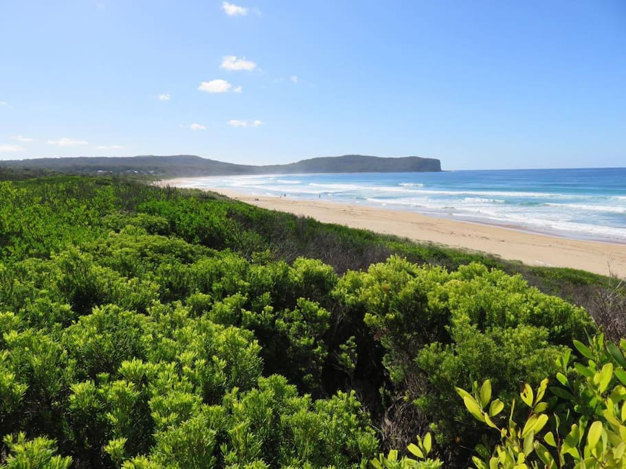 South Durras Beach - only 150m away