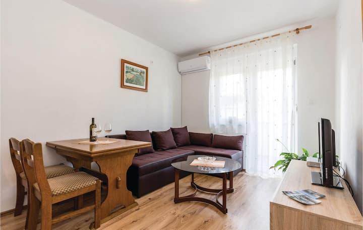 Beautiful home in Novi Vinodolski with WiFi and 1 Bedrooms