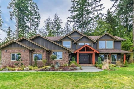 Private space close to hiking & Ammonite Falls - Nanaimo - Huis