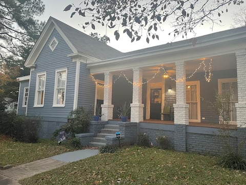 Historic Macon Home Convenient to Everything