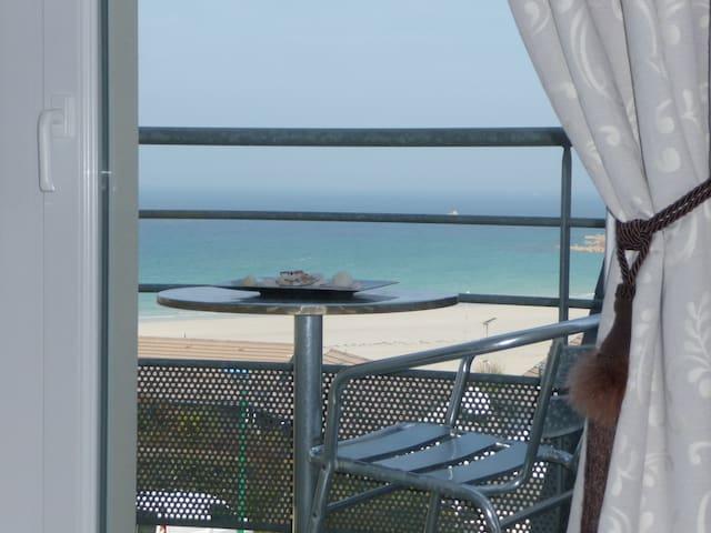 """Studio coquet très belle vue mer """"Le Grand Large"""""""