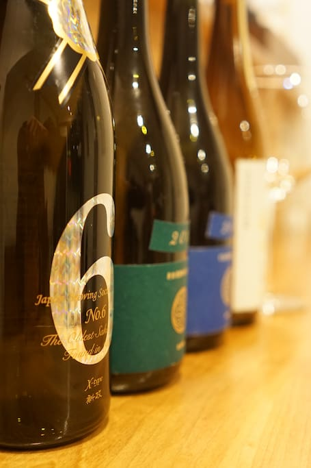 Try Japanese Sake and you can find your favorite from the over 30 kinds of excellent Sake
