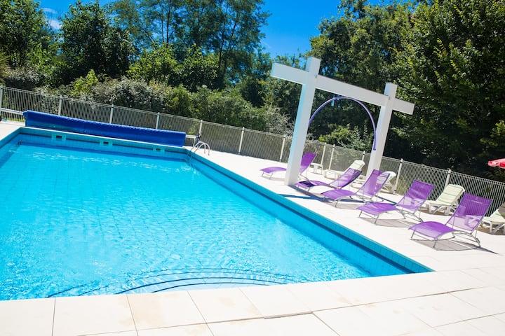 Appart 2 pers piscine parking Saint Paul-lès-Dax