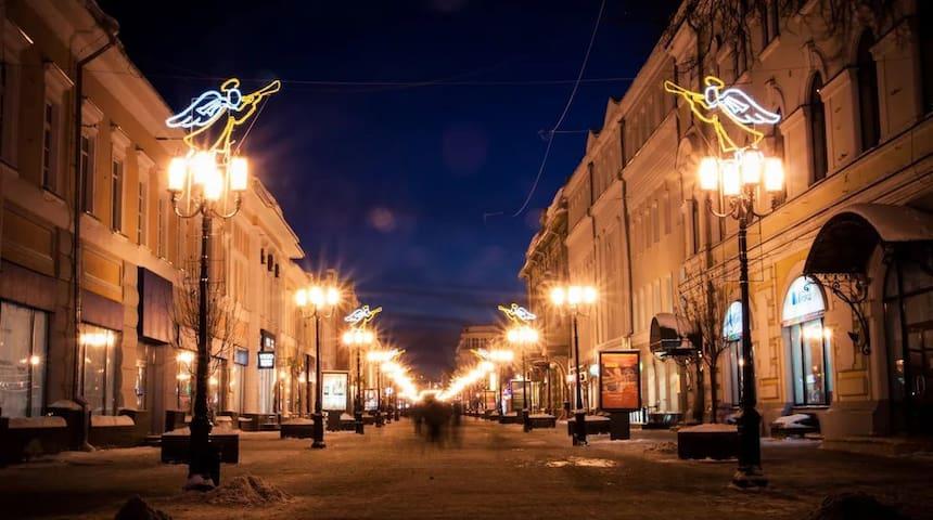 """Дом """"Анатолия Мариенгофа"""" в котором бывал Есенин С"""