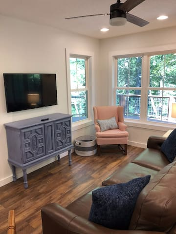 Living Room with TV and ample seating