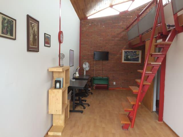 Precioso estudio tipo Loft en Juriquilla, Qro. - 約里奇拉(Juriquilla)