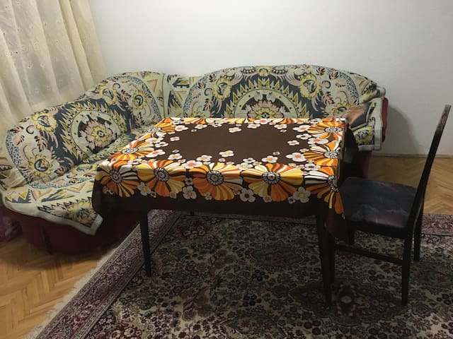 Quiet apartment with own yard for rent near Kocani