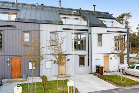 Townhouse in the archipelago close by the sea