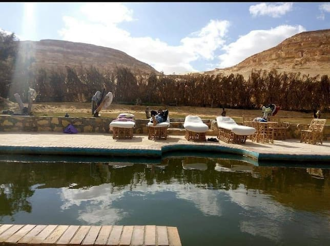 Dakrour Mountain Camp - Natural hot Spring
