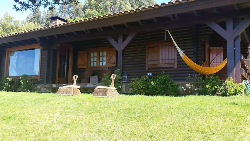 Casa de Madeira Rustica (AL) - Lanhelas - House