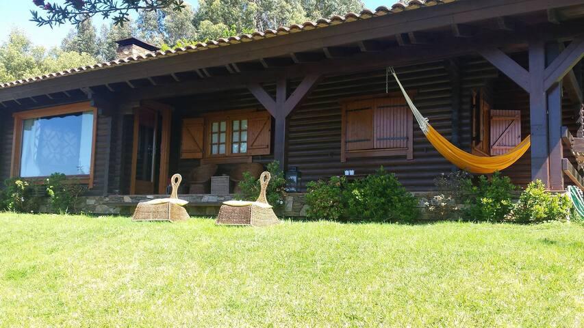 Casa de Madeira Rustica (AL) - Lanhelas - Rumah