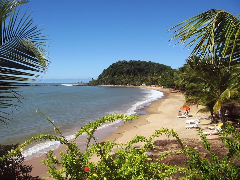 Praia da Concha - 300 m da Casa Urucum