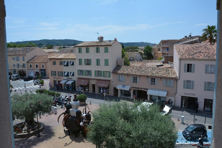 In the heart of St Tropez