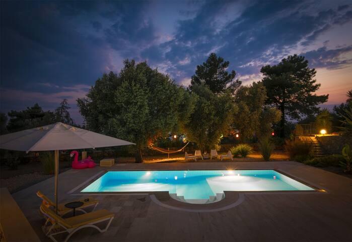Faralya'da 8 Kişilik Özel Havuzlu Villa Gardenia