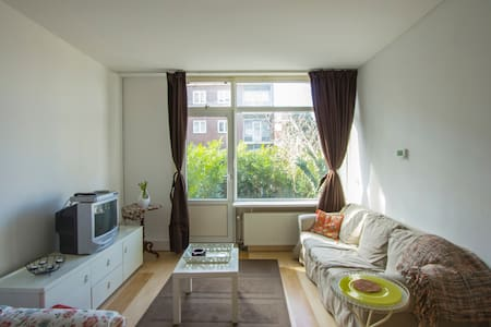 Entire Appartment 2bedrms  & garden - Rotterdam - Appartement