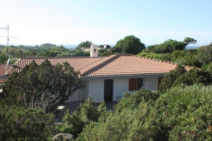 Villa in private park 200m from beach NE Sardinia