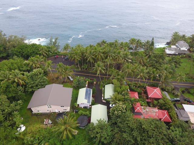 Oceanfront Cottage @ Kehena Beach