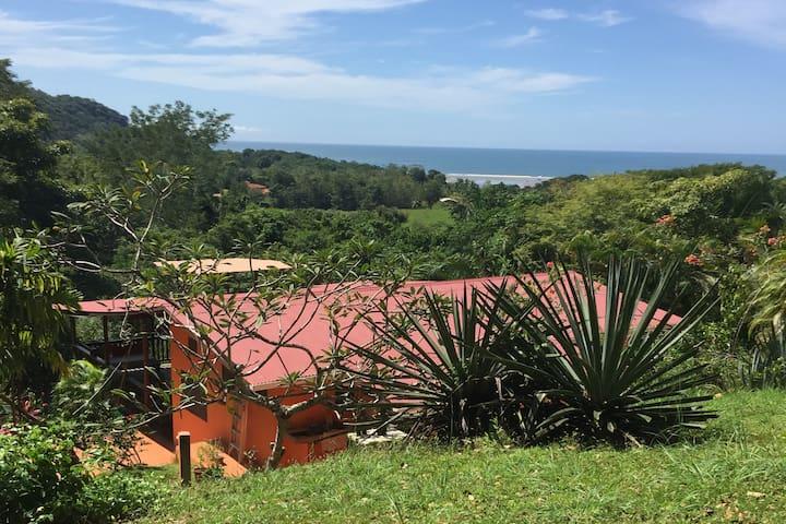 Jungle lodge on Costa Rica pacific coast