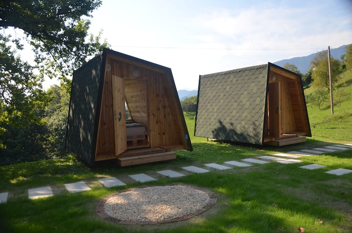 Lovely Glamping house at Health Resort Tunjice