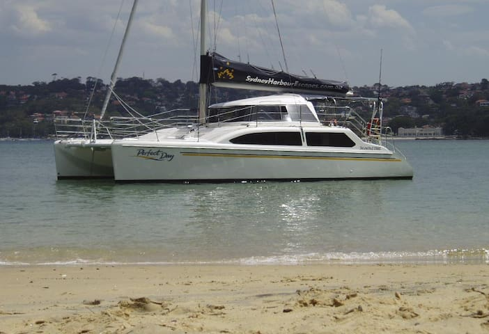 Luxury Catamaran Sydney Harbour