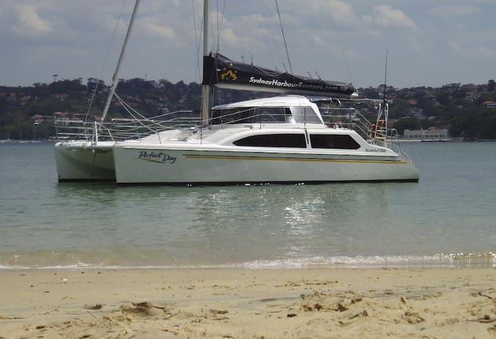 Luxury Catamaran Sydney Harbour
