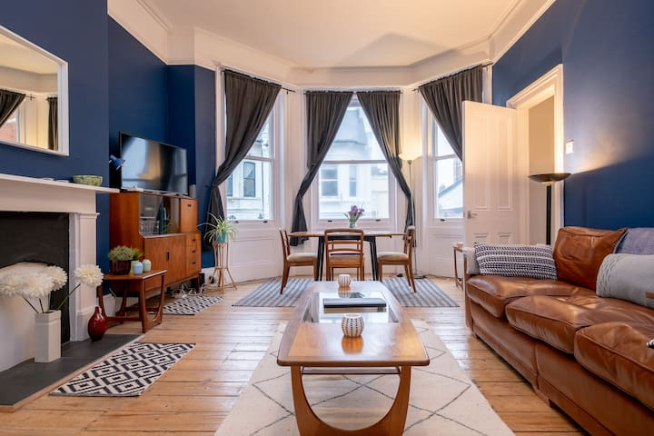Regency Flat with Sea Views Central Brighton