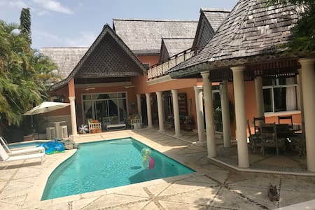 Golf View Villa in Guavaberry Golf & Country Club