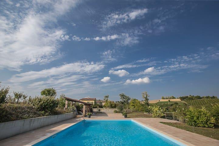 casa per soggiorni di relax e natura - Moncalvo - Byt