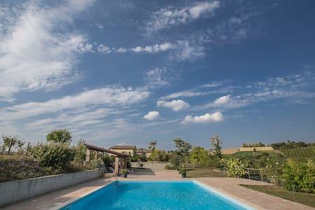 casa per soggiorni di relax e natura - Moncalvo - Wohnung