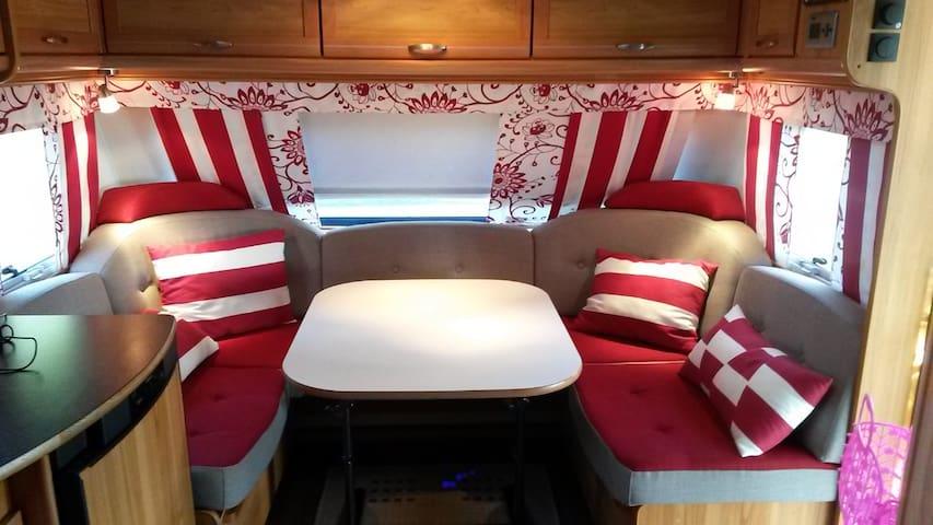 Caravan accommodation at Top Camping Vaasa - Vaasa
