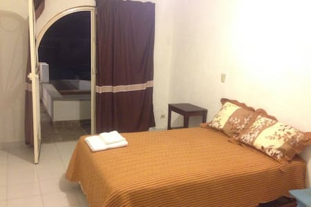 Comfortable room with balcony - Tuxtla Gutiérrez