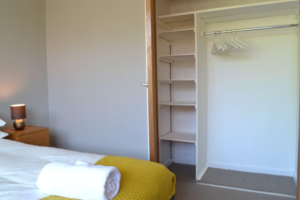 Plenty of wardrobe space