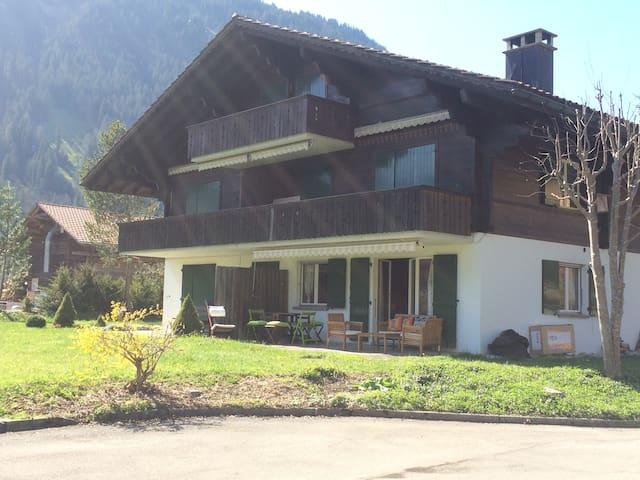 appartement dans résidence montagne. Swiss Alps ! - Lenk im Simmental - Apartment