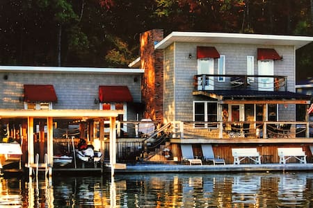 Wilson Lake Front Living  on the Waters Edge !