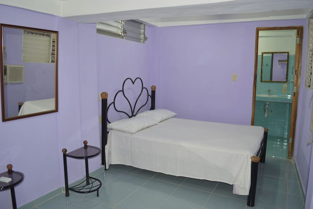 Nice rooms with A/C