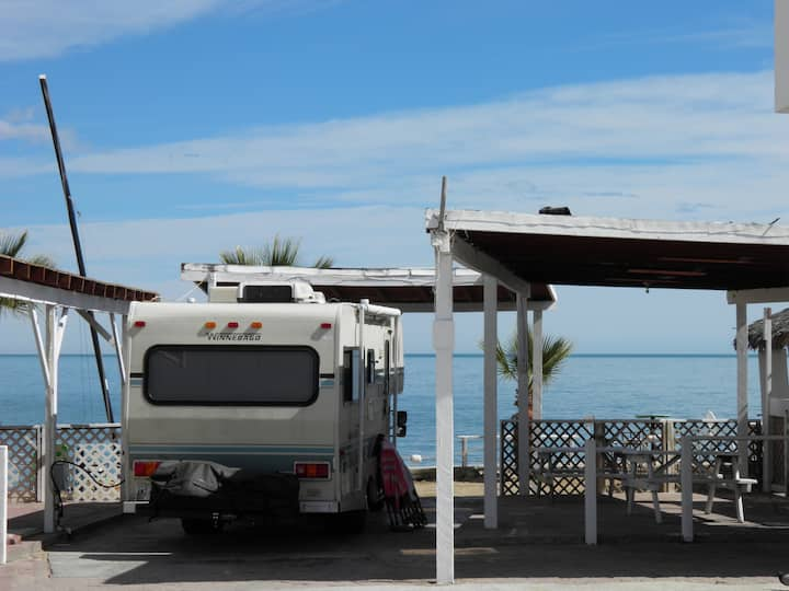 #10 Beach RV Space Victors RV Park San Felipe B.C.