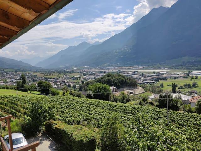 Saint-Christophe (Aosta), appartamento con vista
