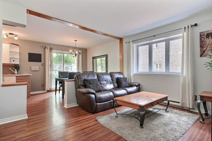 AMAZING 3 closed br near Montreal ! very quiet ! - Longueuil - Wohnung