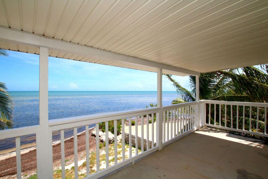Key West Ocean Front Retreat Private Beach Houses For Rent In Marathon Florida United States