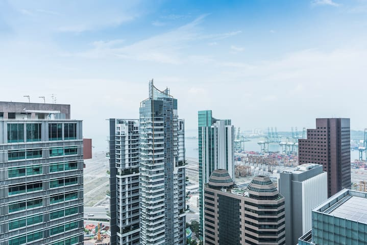 Central area High floor sea view 1Min to MRT市中区近地铁