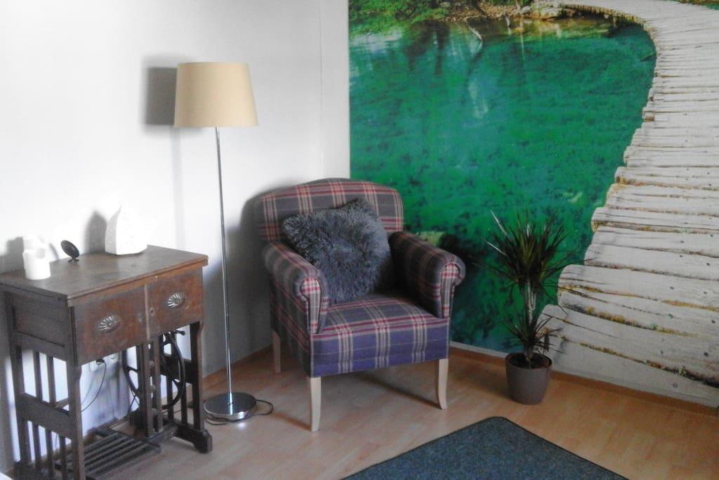 gem tliches zimmer zentral zu bad nauheim und ffm appartementen te huur in friedberg hessen. Black Bedroom Furniture Sets. Home Design Ideas