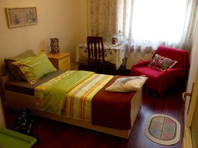 Hİ!I HAVE A COZZY ROOM CLEAN&QUİTE - Estambul - Apartamento