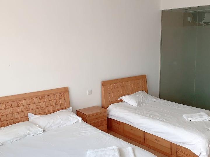 都尚华谊假日公寓(威海会展中心刘公岛店)威海市中心豪华家庭房8