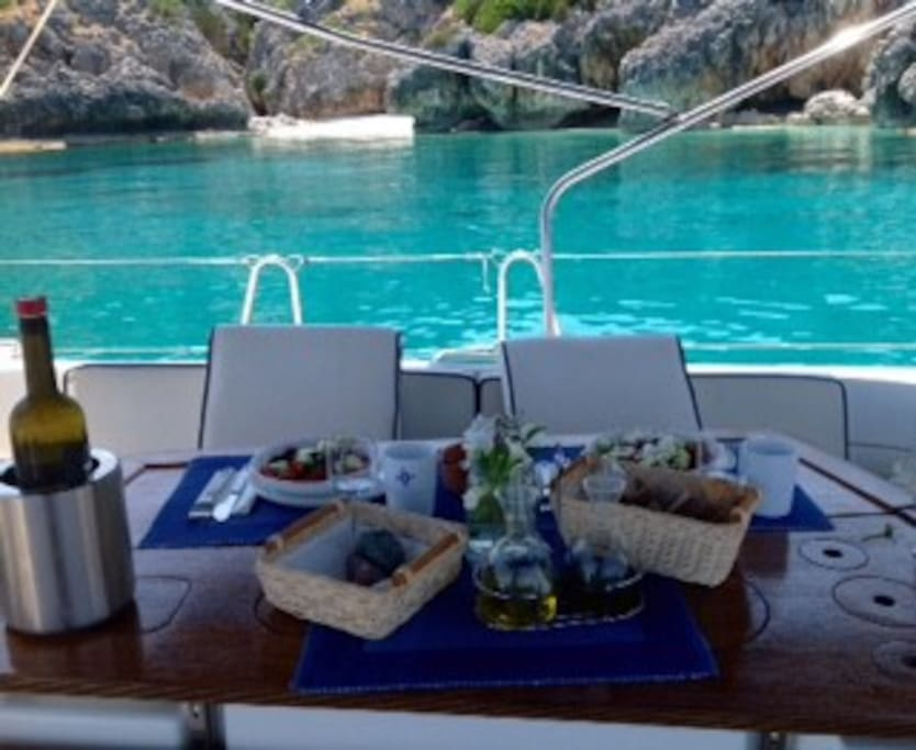 About lunch on board!